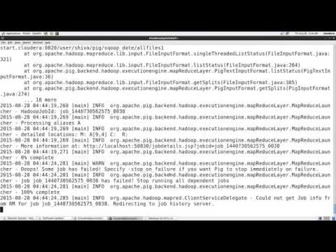 02 - Apache Pig Tutorial For Beginners With Examples - Pig Latin Commands