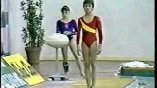 Lavinia Milosovici - 1990 Romania vs Spain Optionals - Vault 2
