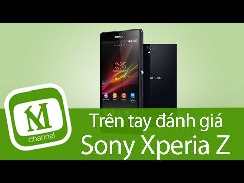 TRÊN TAY REVIEW ĐÁNH GIÁ CHI TIẾT Sony Xperia Z  - MangoTV