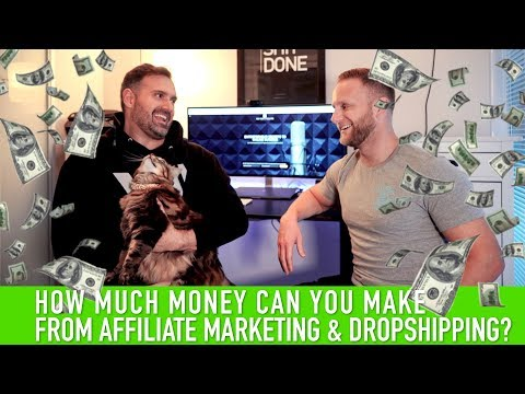 How Much Money Can You Make From Affiliate Marketing & Dropshipping in 2019? thumbnail