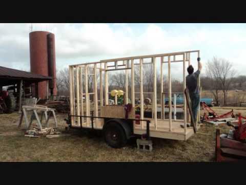 Fair Share Farm Chicken Trailer Construction