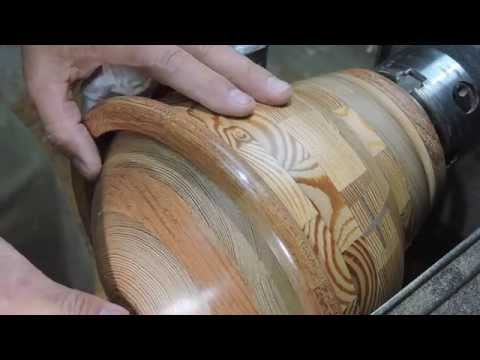 Tommy Akridge segmented Wood Turning