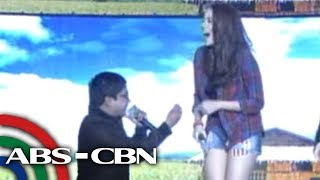 It's Showtime: Choco Martin 'proposes' to Julia Montes