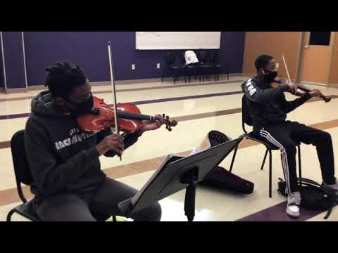 Mann Magnet Middle School,  Jazz Band and Orchestra Virtual Performance