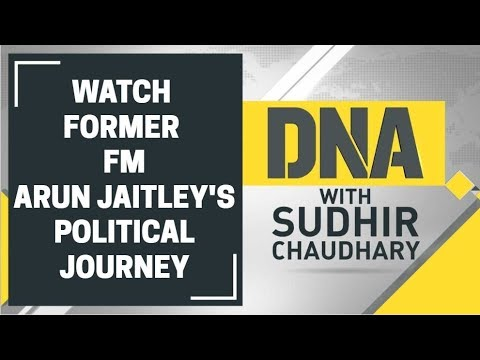 Watch DNA show with Sudhir Chaudhary dedicated to Arun Jaitley
