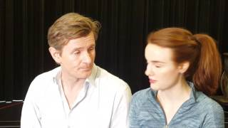 Charles Edwards and Anna O'Byrne leads in My Fair Lady