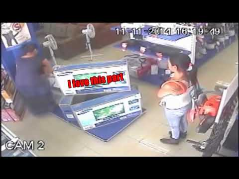 Szekely - Hungarian language White Gypsy stealing Plasma TV in 1 seconds thumbnail