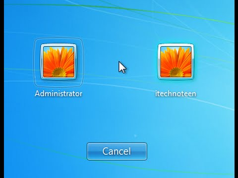 How to Enable or Disable Hidden Administrator Account in Windows 7 ...