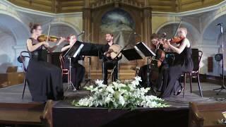 Fux - Ouverture K.355: II. Rigaudon-Trio Bourée | QUARTETTO NERO & Wojciech Lubertowicz