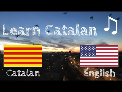 Learn before Sleeping - Catalan (native speaker)  - with music