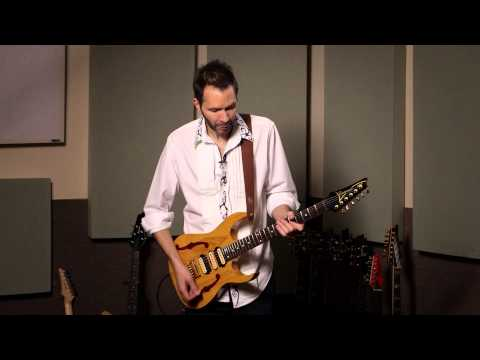Paul Gilbert demos DiMarzio PAF Master Pickups