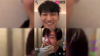 180616 GOT7 재범 영재 (JB.Young Jae) instagram live in Taiwan