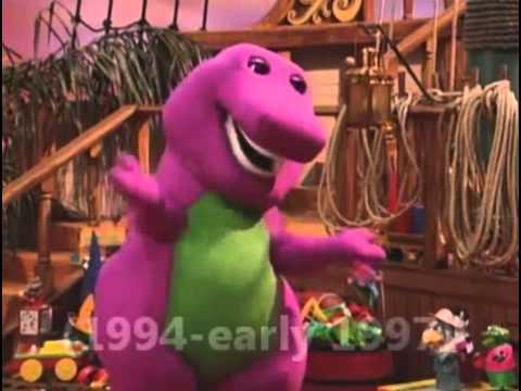 Barney Through The Years Youtube