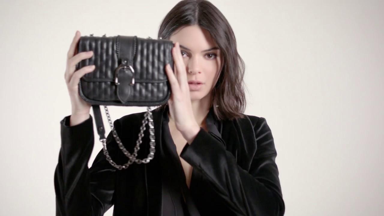 Longchamp Fall 2018 campaign with Kendall Jenner: Amazone matelassé