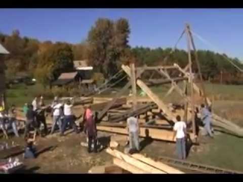 Building the Dutch Barn