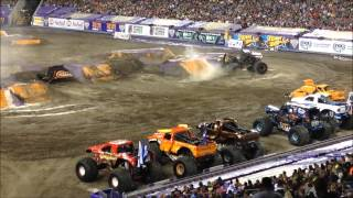 MONSTER JAM 2015!!! RAYMOND JAMES STADIUM - TAMPA BAY!!!