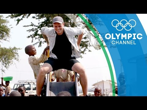 Gus Kenworthy Visits Refugees at Uganda's Nakivale Camp | Camps to Champs