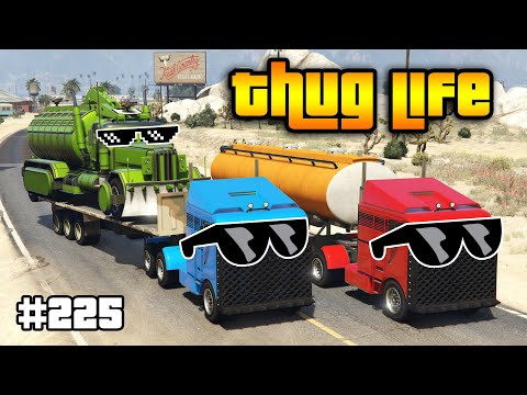 GTA 5 THUG LIFE AND FUNNY MOMENTS (Wins, Stunts and Fails #225)