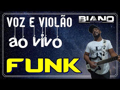 FUNK ACÚSTICO Ao vivo - Sequência de FUNK no VIOLÃO light sem palavrão i love baile funk
