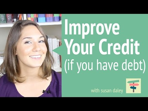 Improving Your Credit Score with Existing Debt   Your Money, Your Choices with Susan Daley