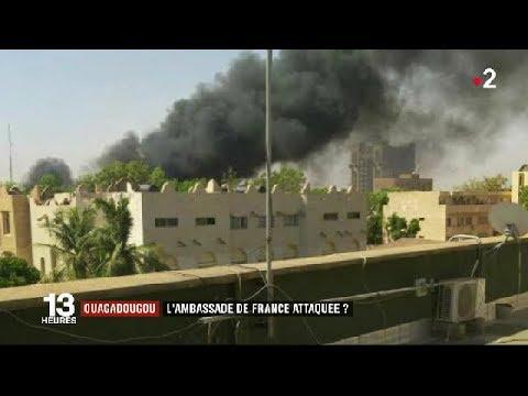 Ouagadougou : l'ambassade de France visée par une attaque terroriste ? JT du vendredi 2 mars 2018