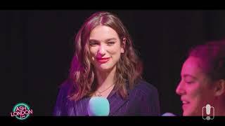 Dua Lipa - New Rules and IDGAF (Acoustic) + Interview on Ash London Live [HD]