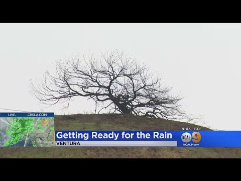 Residents Below Ventura Burn Areas Anxiously Await Rain After Voluntary Evacuation Order