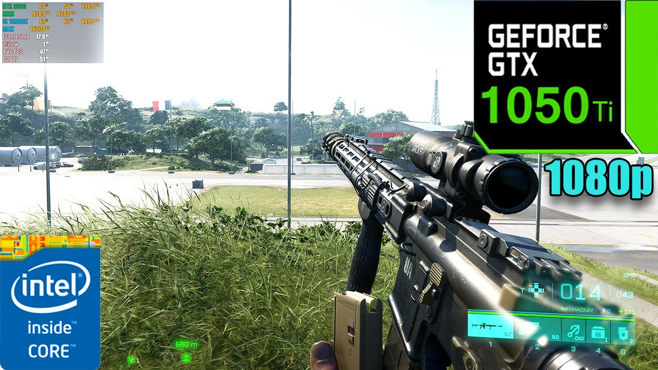 Battlefield 2042 | GTX 1050 Ti 4GB