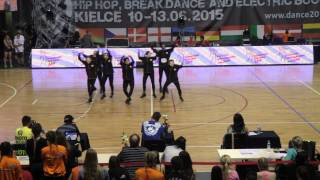 HEARTBEAT [ENG] | Small Groups Adults | IDO European Hip Hop Championship 2015