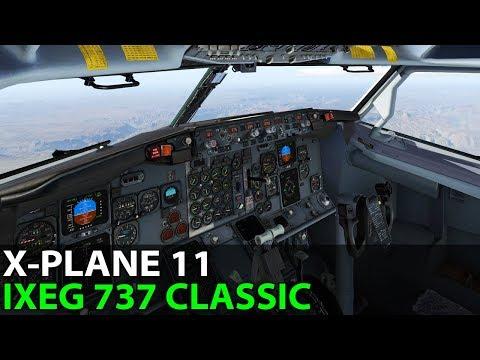 Go Away Jose! IXEG 737-300 Classic in X-Plane 11, PilotEdge ✈️ 2017-09-22