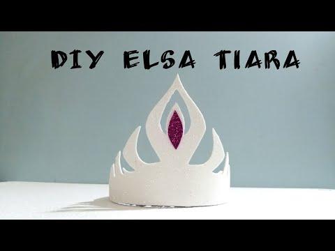 DIY Easy Elsa Tiara/crown |foaming Sheet Craft|DIY Kids Craft|Art, Craft And Health