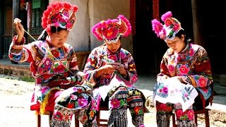 Embroidery business colors ethnic minorities' lives