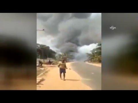 Nijerya'da Gaz Istasyonunda Patlama: Onlarca Insan öldü