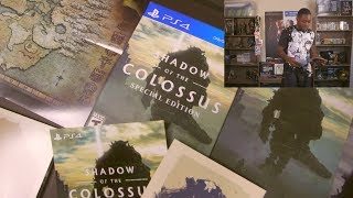 Shadow Of The Colossus PS4 - [Special Edition] - Unboxing/Projector Gameplay