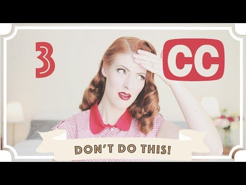 Don't do this! // How to do captions right! [CC]
