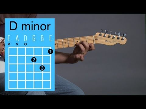 How To Play A D Minor Open Chord Guitar Lessons Youtube