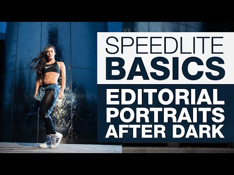 SPEEDLITE BASICS   Editorial Portraits - After Dark