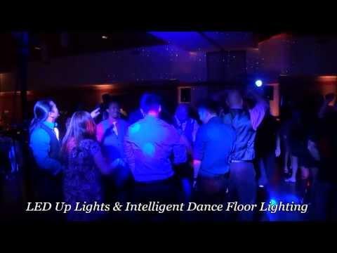 Intelligent Wedding Dance Floor Lighting Rental Demo At Coronado Community Center In San Diego, CA