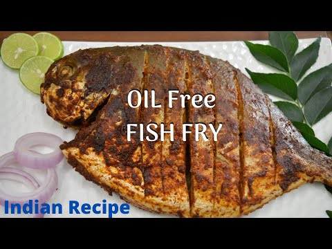 How To Bake Whole Fish | Baked Whole Pompano With Indian Masala