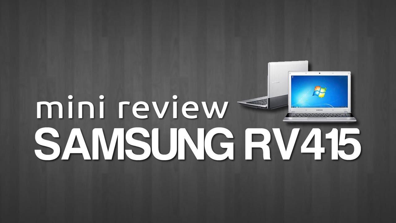 Notebook samsung drivers rv415 - Samsung Rv415 Mini Review