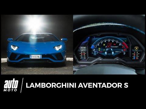 2017 Lamborghini Aventador S [0-100 km/h] : sacrebleu !