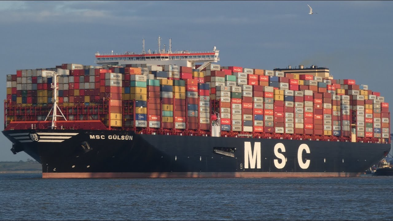 New World S Largest Container Ship Msc