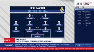 Fred Hermel dresse son onze type historique du Real Madrid