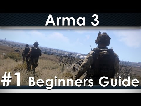 Arma 3 Beginners Guide 1: Basic Controls, Stances and Keybindings (Alpha gameplay)