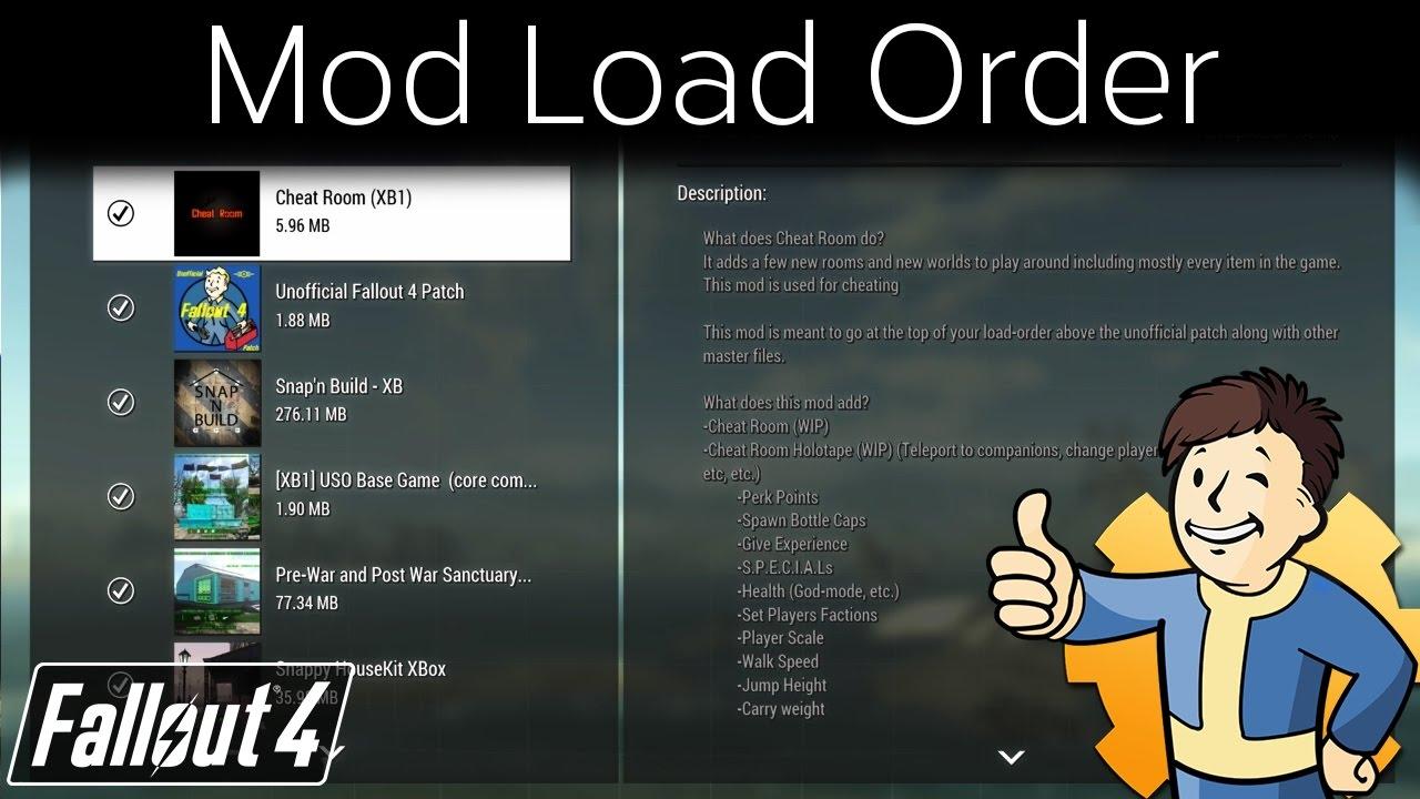 Fallout 4 - Mod Load Order