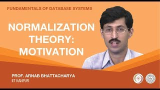 Lecture 12 - Normalization Theory: Motivation