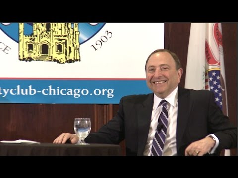 Gary Bettman, Commissioner, National Hockey League