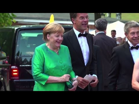 Germany's Merkel attends opening of Bayreuth Festival