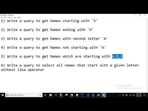 Sql Server Interview Questions - Sql Querys Part2