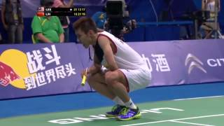 L. Dan v Lee C.W.-MS-F- Wang Lao Ji BWF World Champ.2013 LeeChongWei Highlights